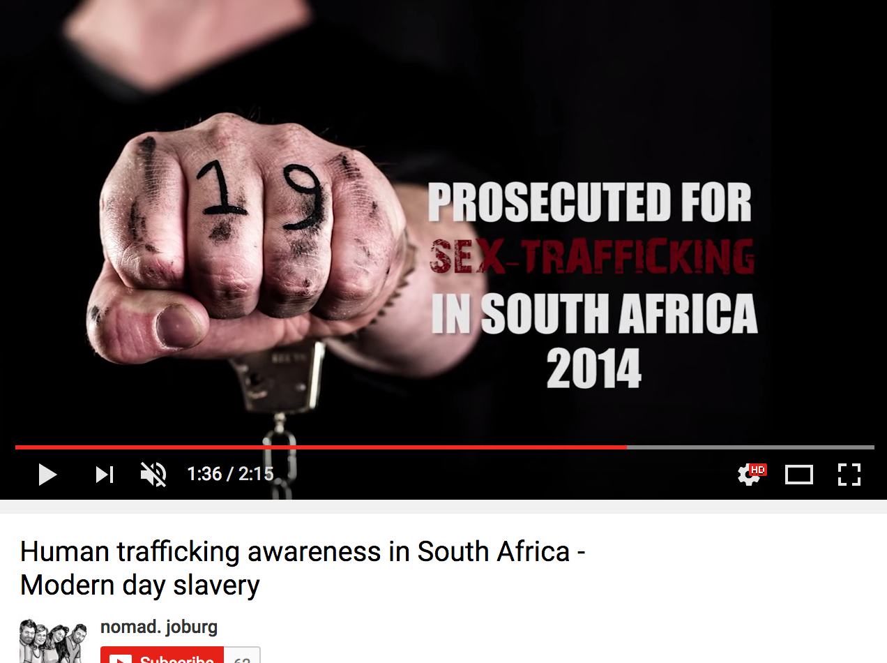 how to stop human trafficking in africa