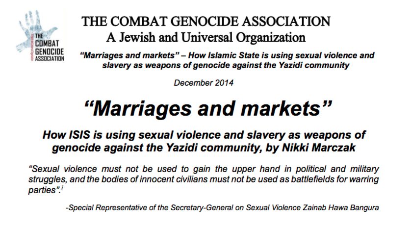 Genocides sexuality
