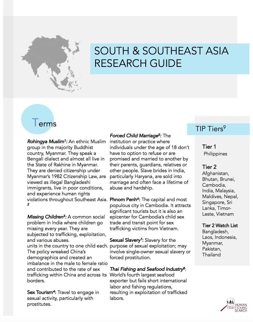 South and Southeast Asia Research Guide