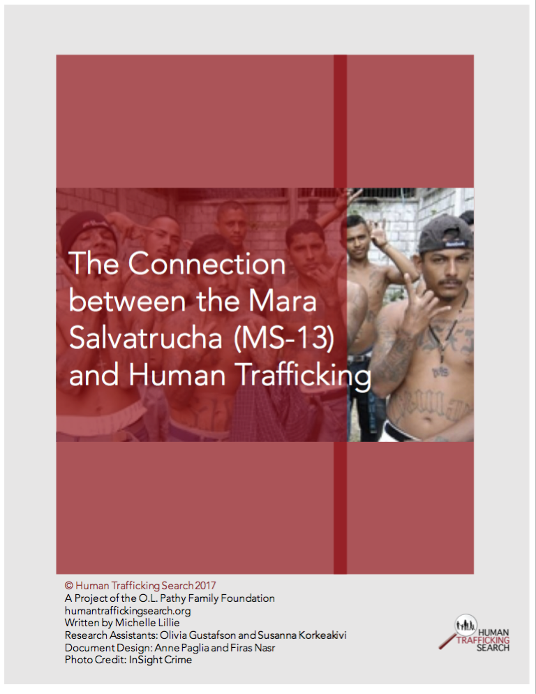 The Connection between the Mara Salvatrucha (MS-13) and Human Trafficking