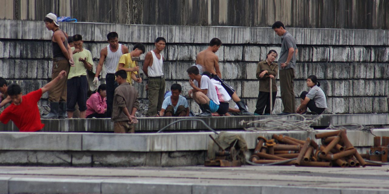 State-sponsored Slavery: a North Korean Export