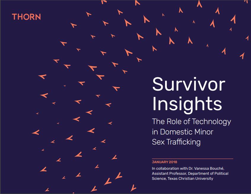 Thorn Survivorinsights thumbnail • Human Trafficking Search
