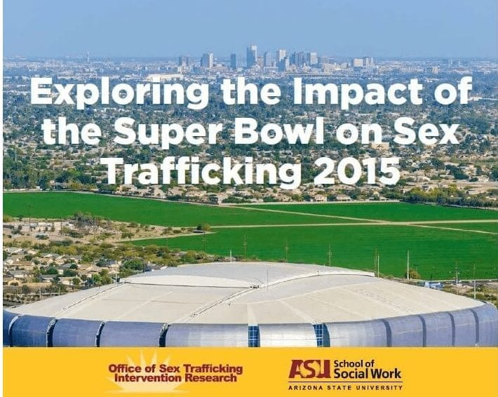 Countering Human Trafficking at Large Sporting Events