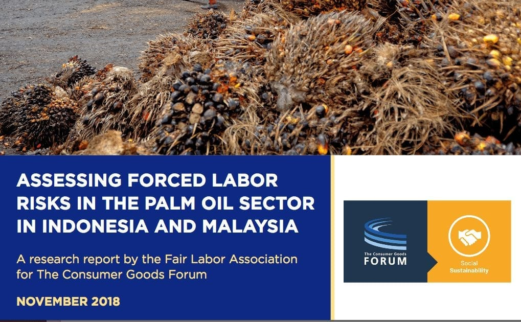 Forced Labor Risks in the Palm Oil Sector in Indonesia and Malaysia