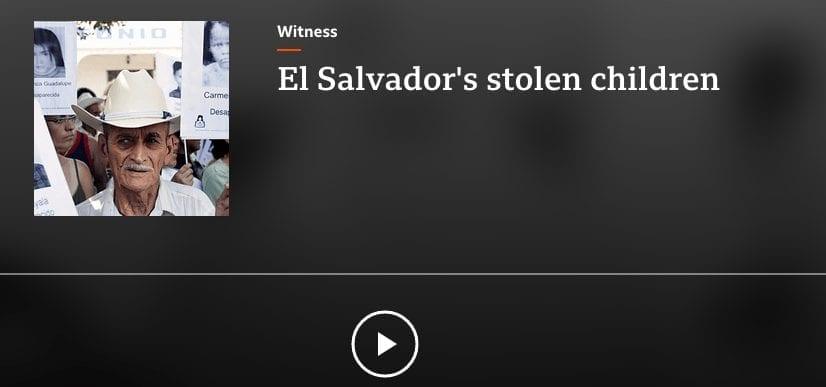 El Salvador's Stolen Children