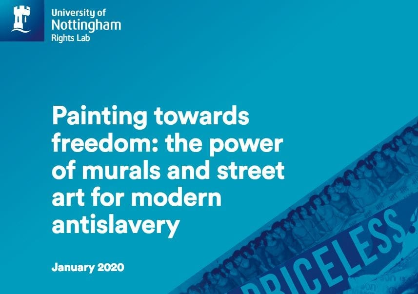 Painting Towards Freedom: The Power of Murals and Street Art for Modern Antislavery