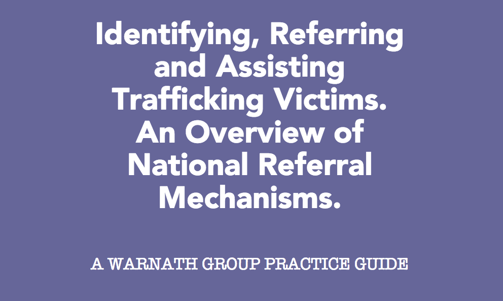 An Overview of National Referral Mechanisms