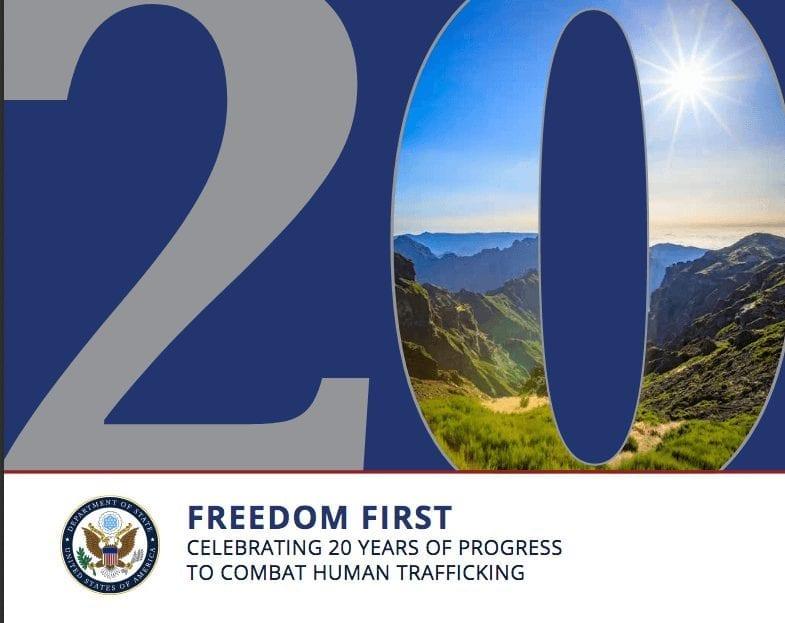 Celebrating 20 Years Of Progress To Combat Human Trafficking