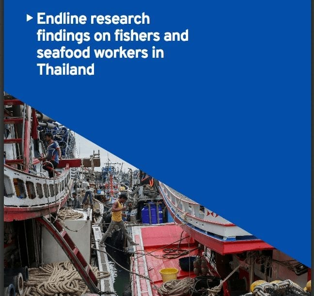 ILO Report on Working Conditions in Thailand's Fishing and Seafood Industry