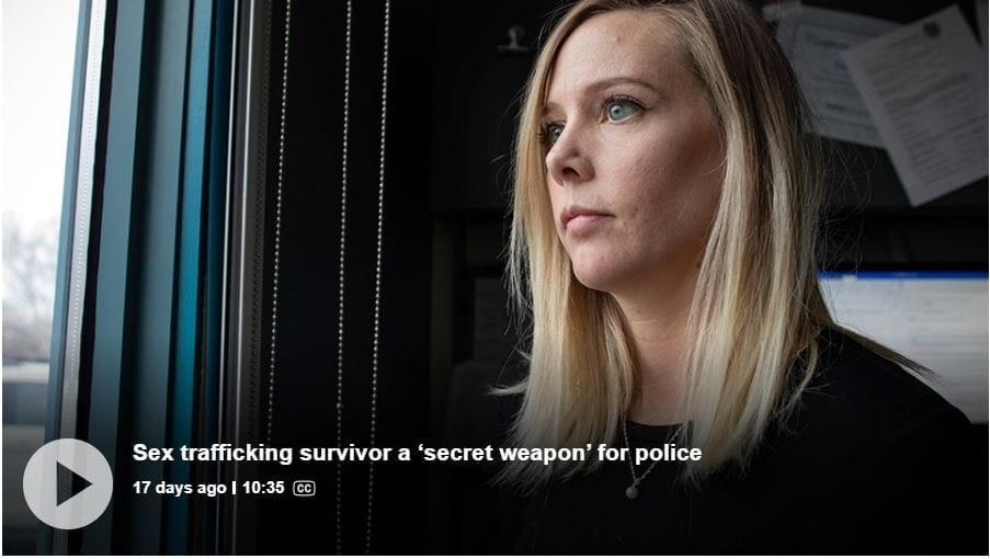 'My name is Karly': Sex trafficking victim joins police on front lines in battle against exploitation