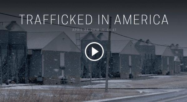 Trafficking in America (video)