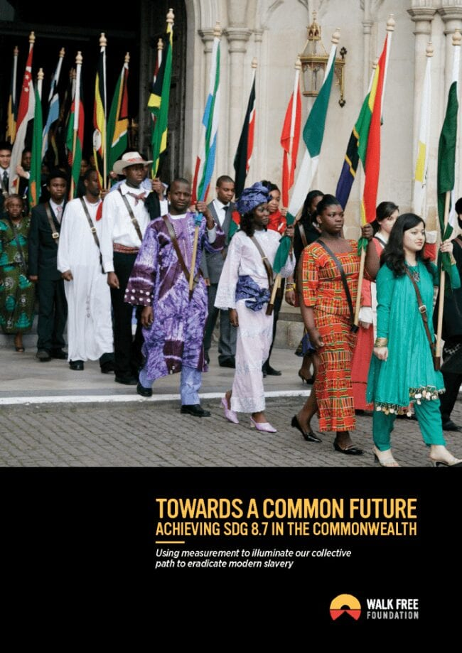 Towards a Common Future: Achieving SDG 8.7 in the Commonwealth