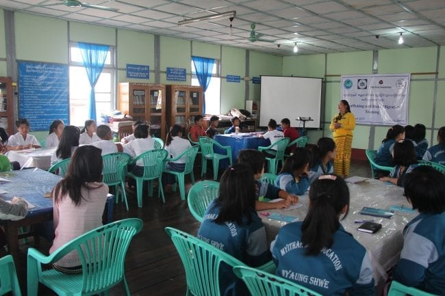 Can Myanmar's Libraries Help Combat Human Trafficking?