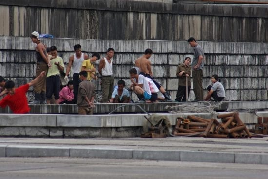 state sponsored slavery: a north korean export