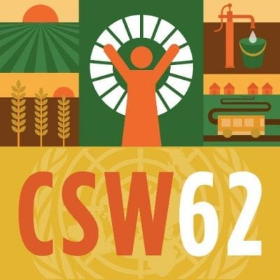 Human Trafficking Events at CSW62