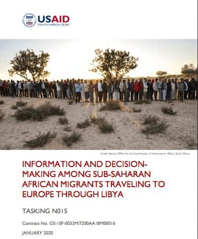 Information And Decision-Making Among Sub-Saharan African Migrants Traveling To Europe Through Libya