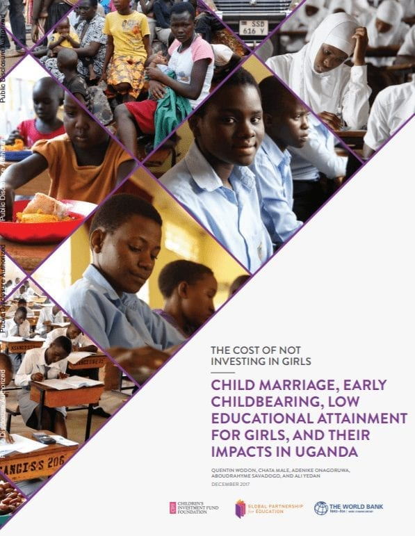 Child Marriage, Early Childbearing, and Low Educational Attainment for Girls, and Their Impacts in Uganda