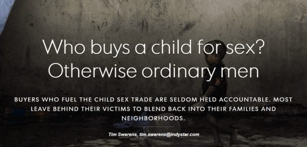 Exploited Part I: Who Buys a Child for Sex?