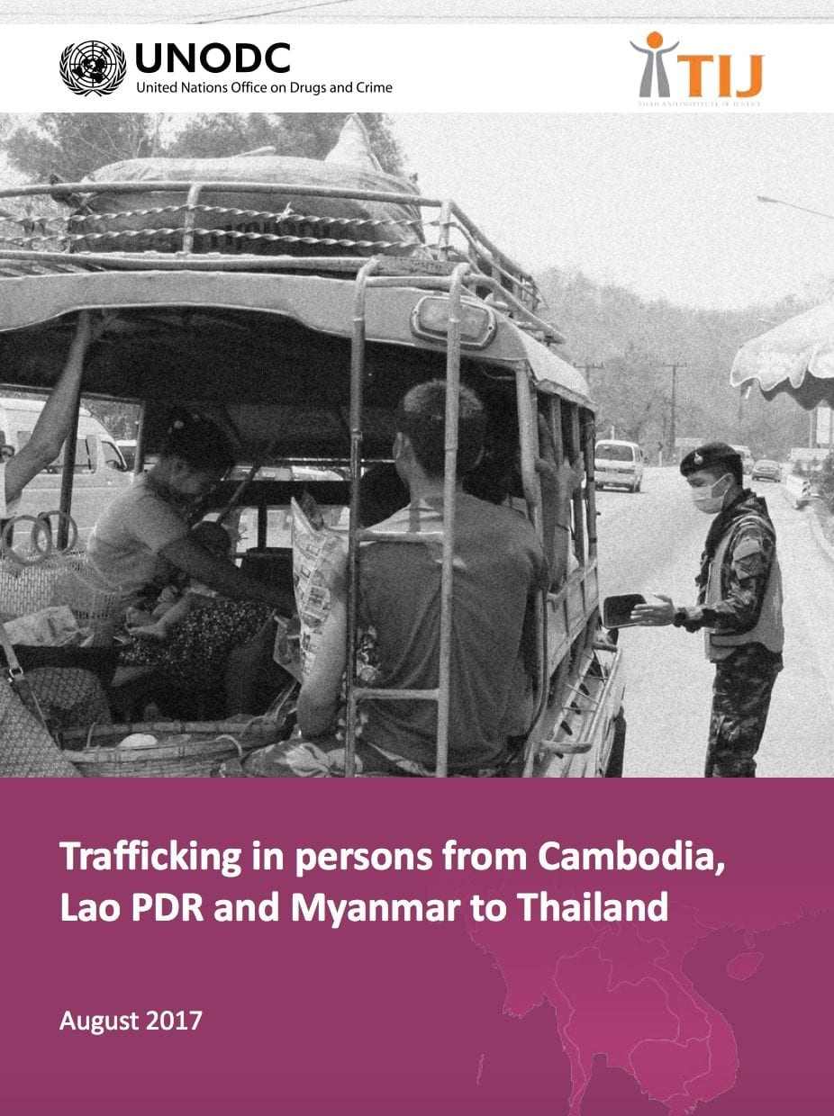 Publication of the Month: Trafficking in persons from Cambodia to Lao PDR and Myanmar to Thailand
