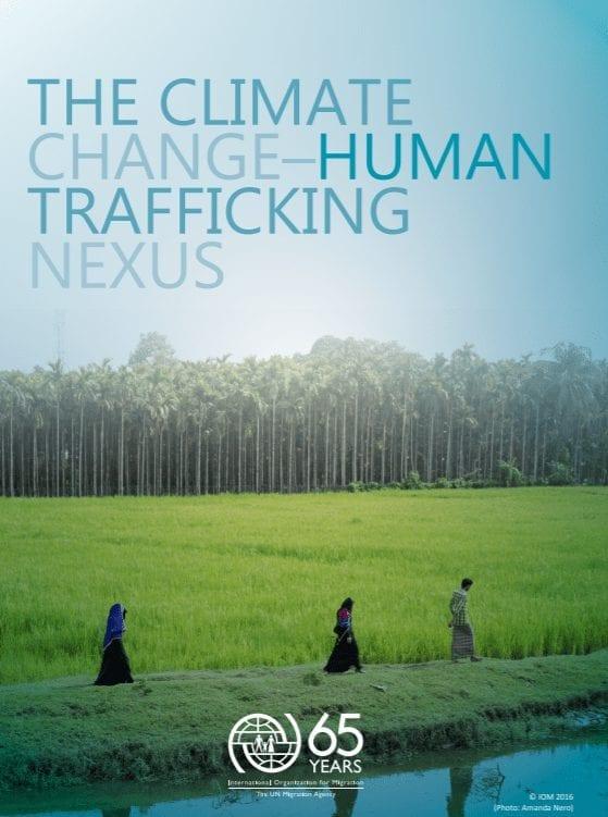 The Climate Change-Human Trafficking Nexus