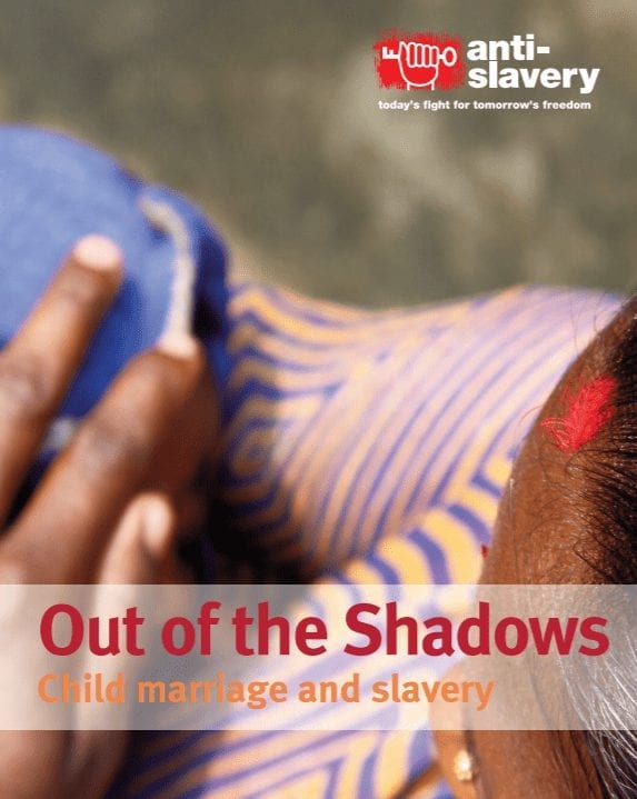 Out of the Shadows: Child Marriage and Slavery
