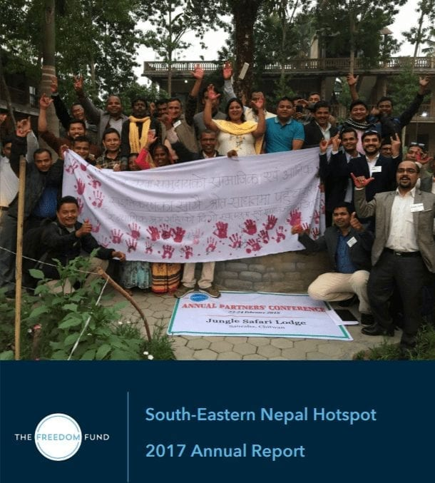 South-eastern Nepal Hotspot: 2017 Annual Report