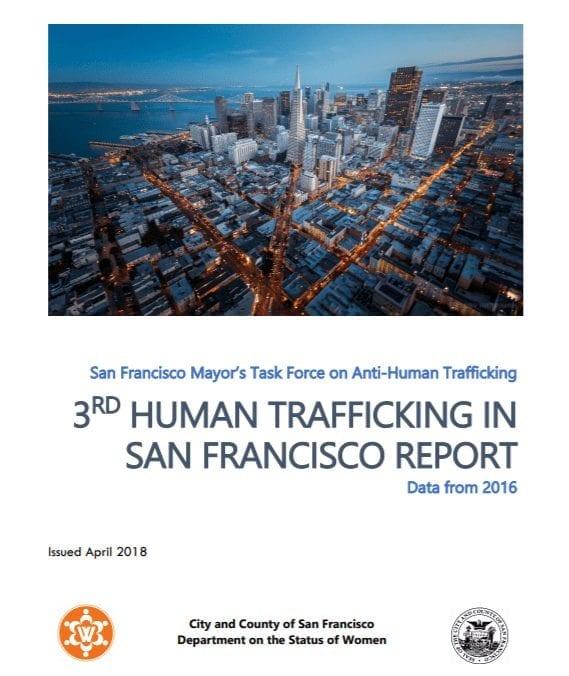 3rd Human Trafficking in San Francisco Report