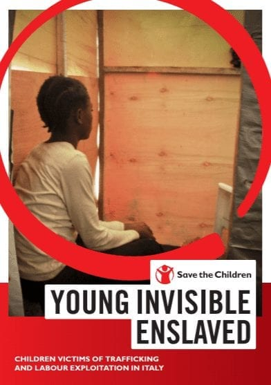 Young, Invisible, Enslaved: Child Victims of Trafficking and Labour Exploitation in Italy