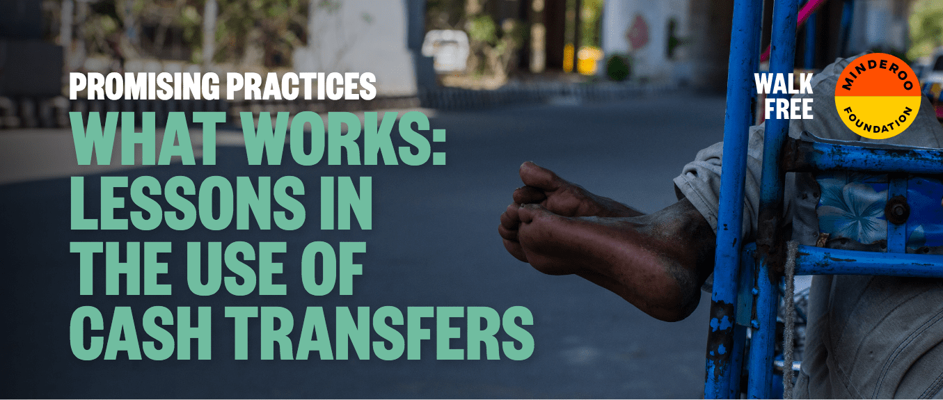Promising Practices: Lessons in the Use of Cash Transfers