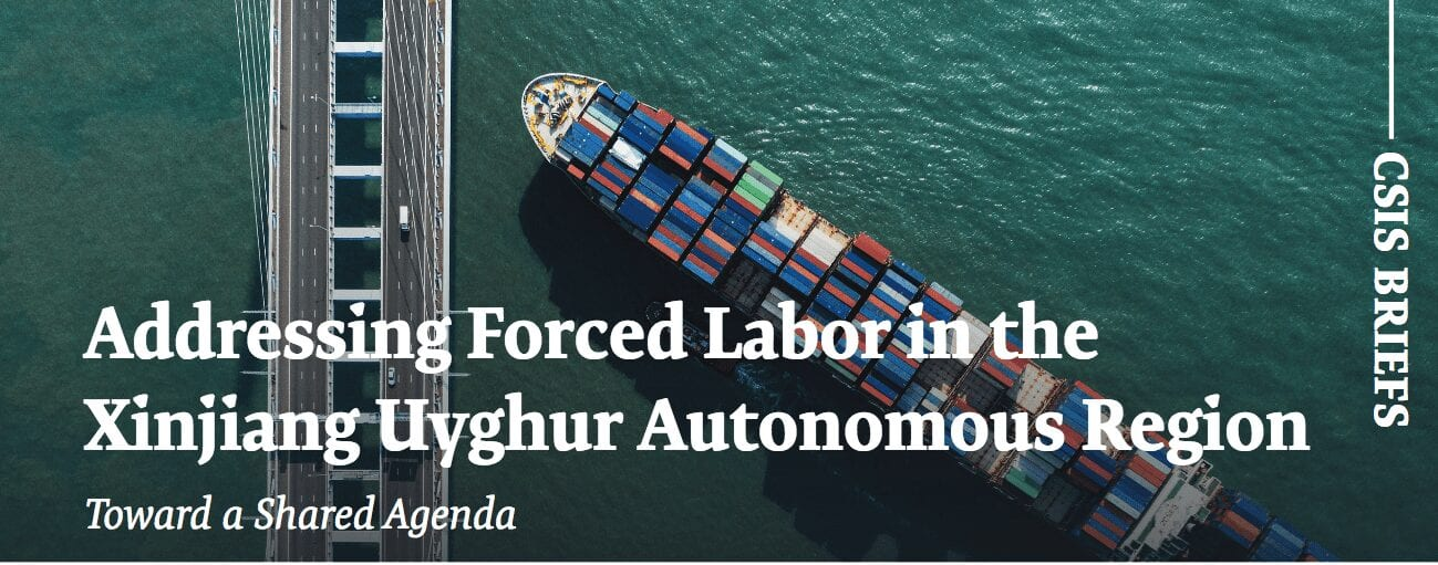 Addressing Forced Labor in the Xinjiang Uyghur Autonomous Region