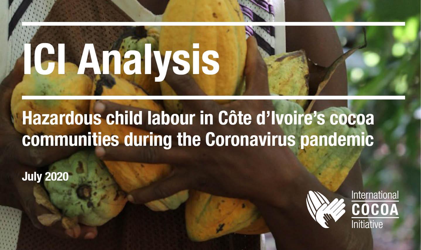 Hazardous child labour in Côte d'Ivoire's cocoa communities during COVID-19