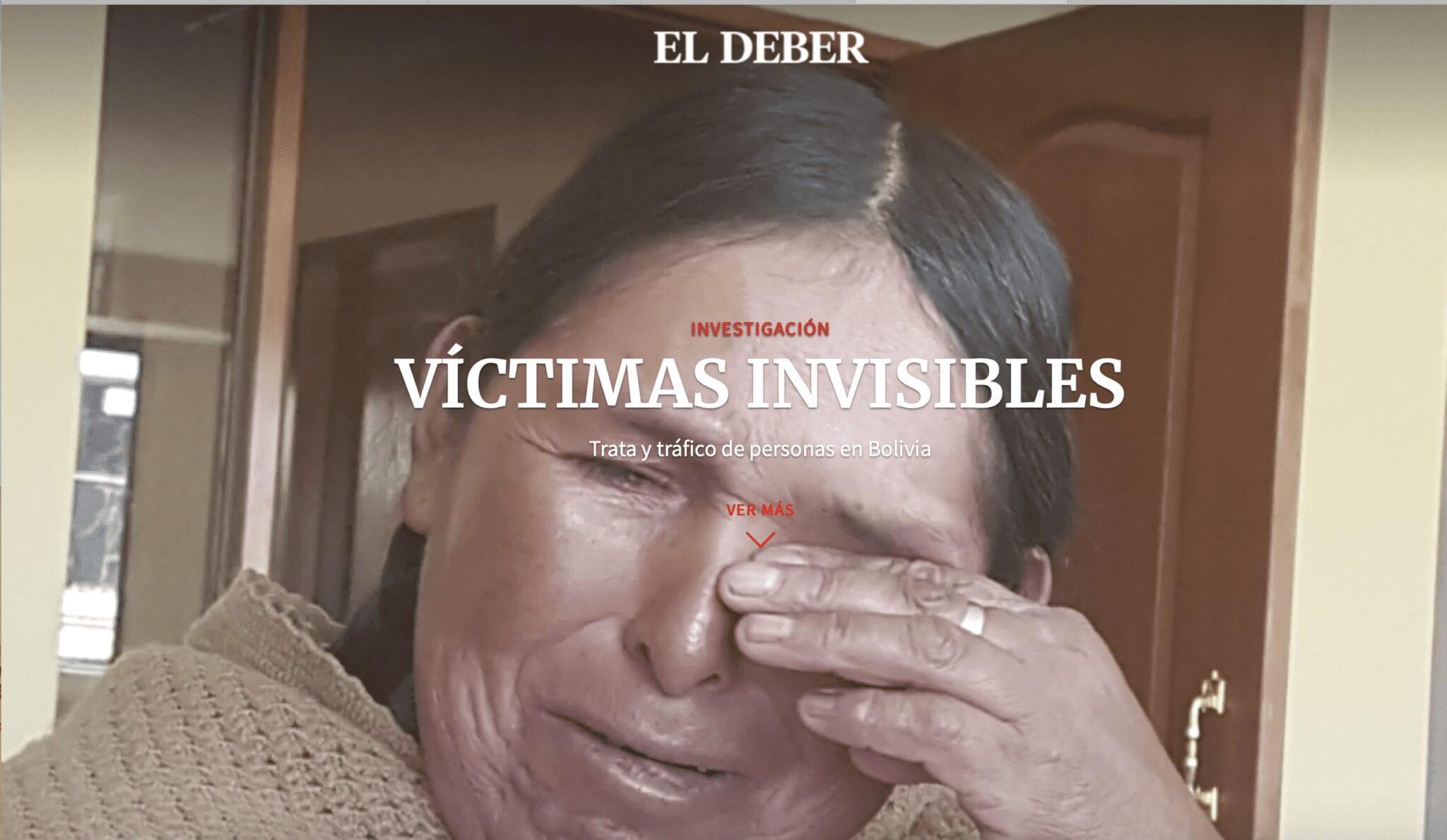Víctimas invisibles: trata y tráfico de personas en Bolivia