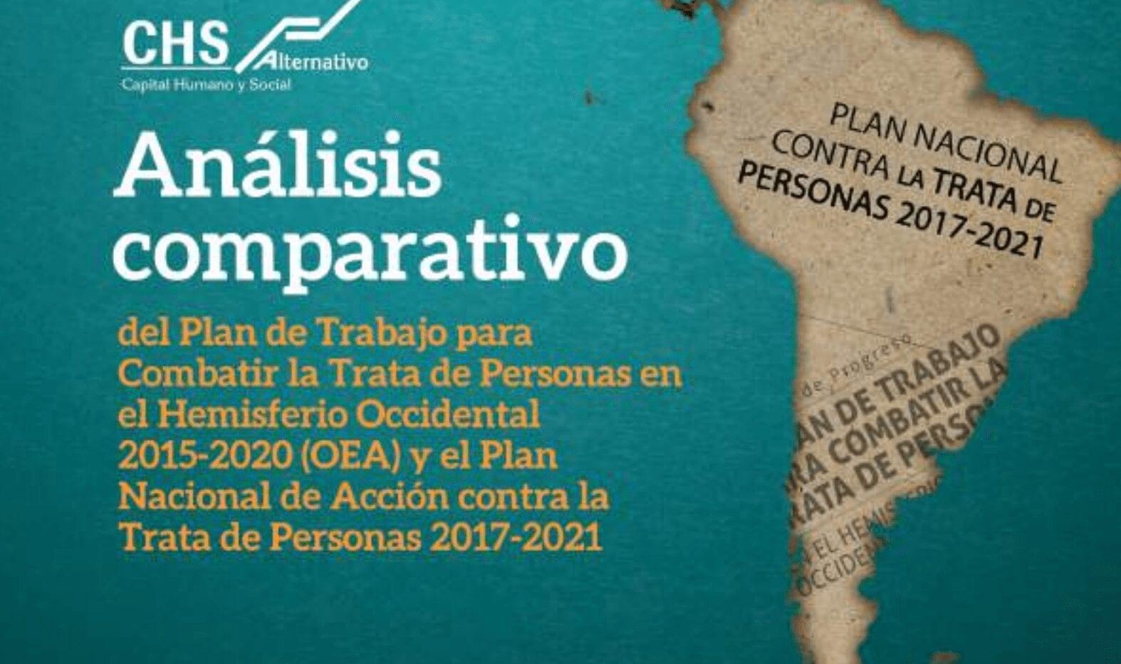 Análisis del Plan de Trabajo para combatir la trata de personas: OEA y PNAT