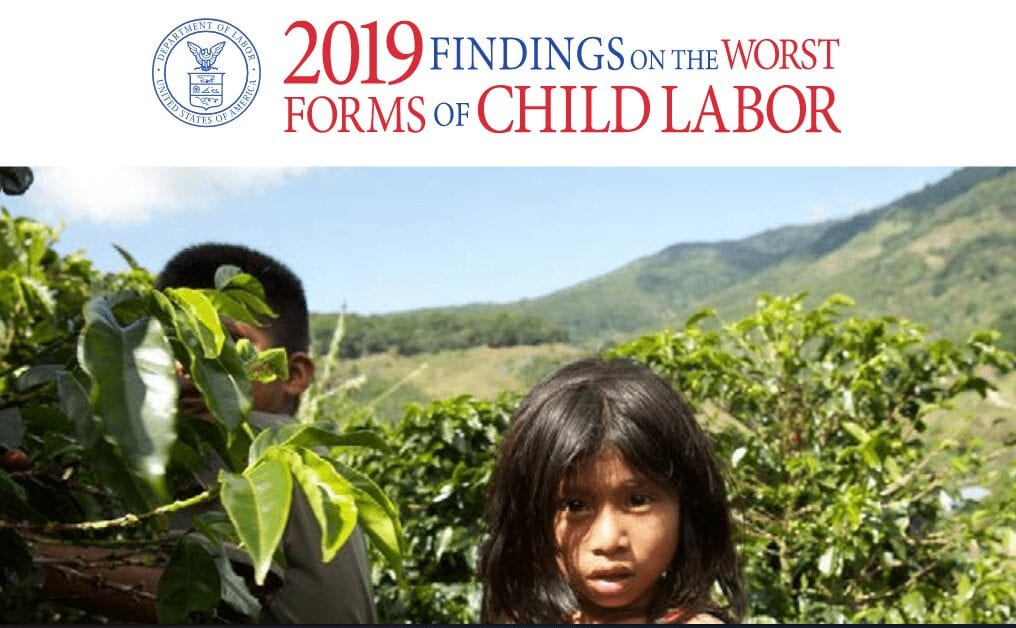 2019 Findings on the Worst Forms of Child Labor Report