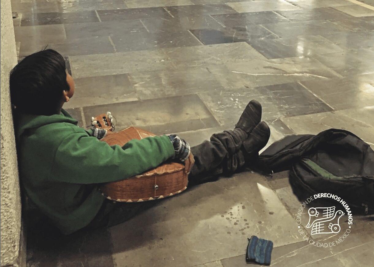 La situación del trabajo infantil y el trabajo adolescente en edad permitida en el Sistema de Transporte Colectivo Metro, la Central de Abasto y otros espacios públicos de la Ciudad de México
