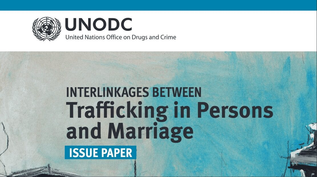 Trafficking in Persons and Marriage