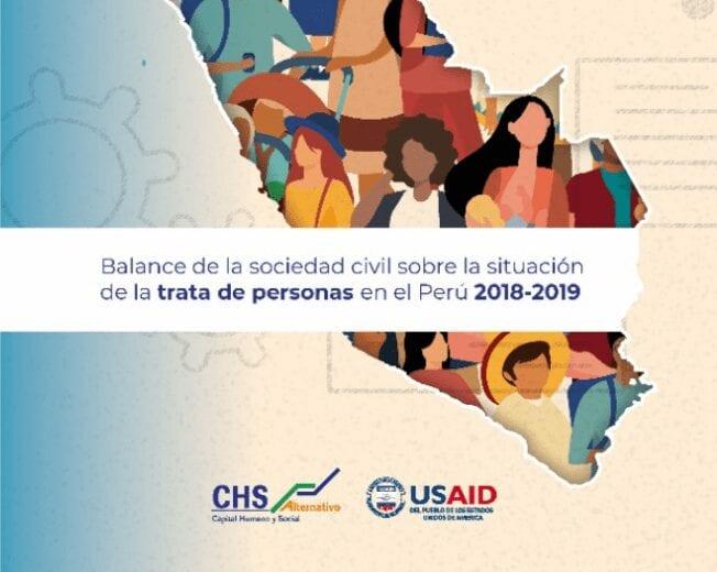 Balance de la sociedad civil sobre la situación de la trata de personas en el Perú 2018-2019