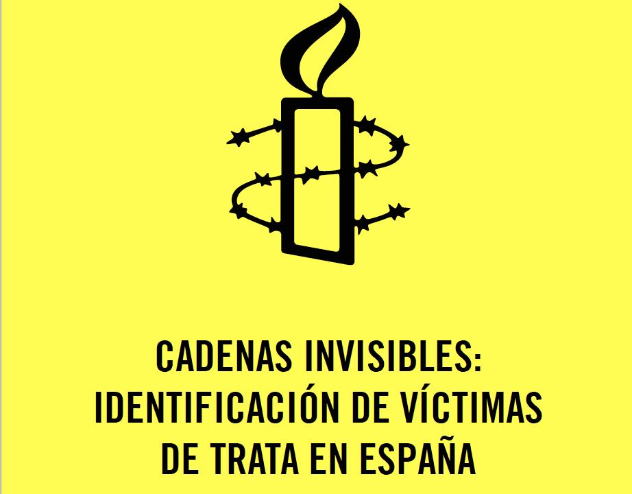 Cadenas invisibles: identificación de víctimas de trata en España