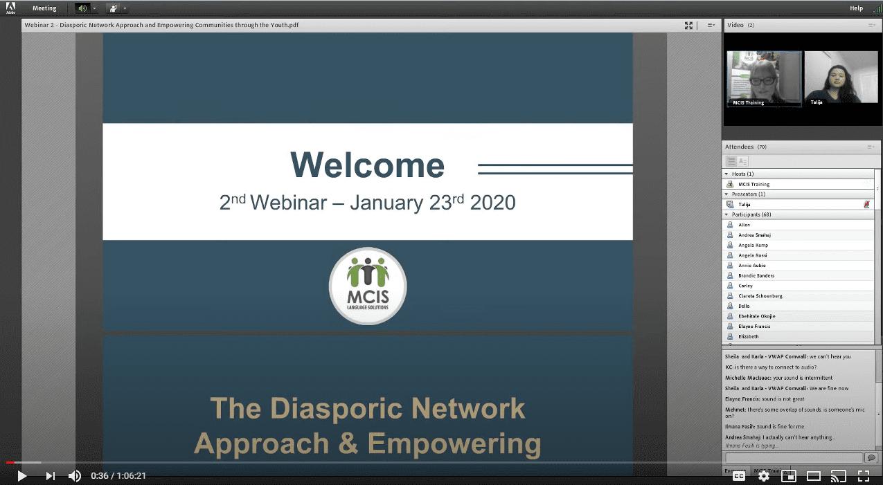 diasporic network