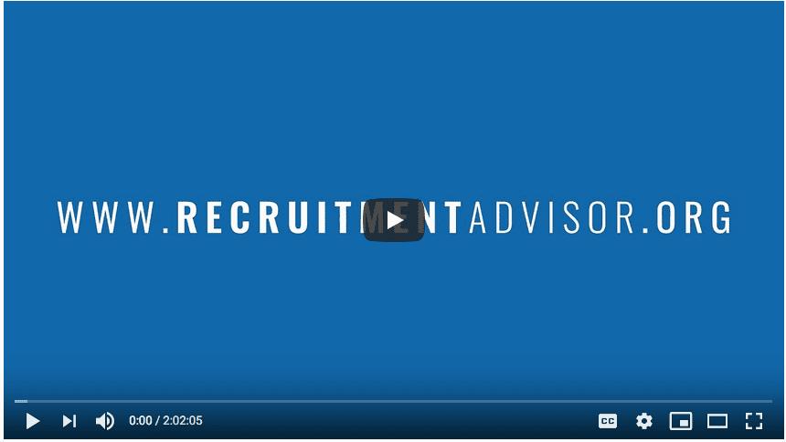 Recruitment Advisor Webinar