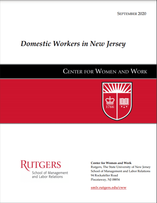 Rutgers Report on Domestic Workers in New Jersey