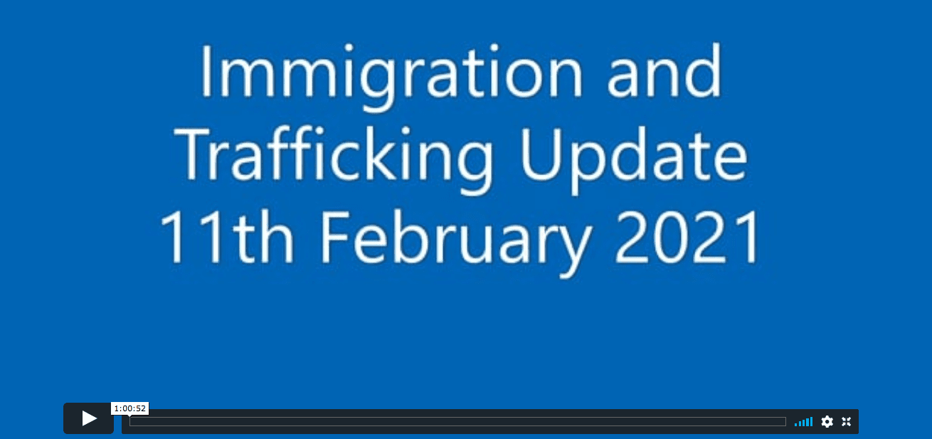 Immigration and Trafficking