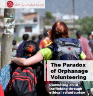 The Paradox of Orphanage Volunteering Combating child trafficking through ethical voluntourism