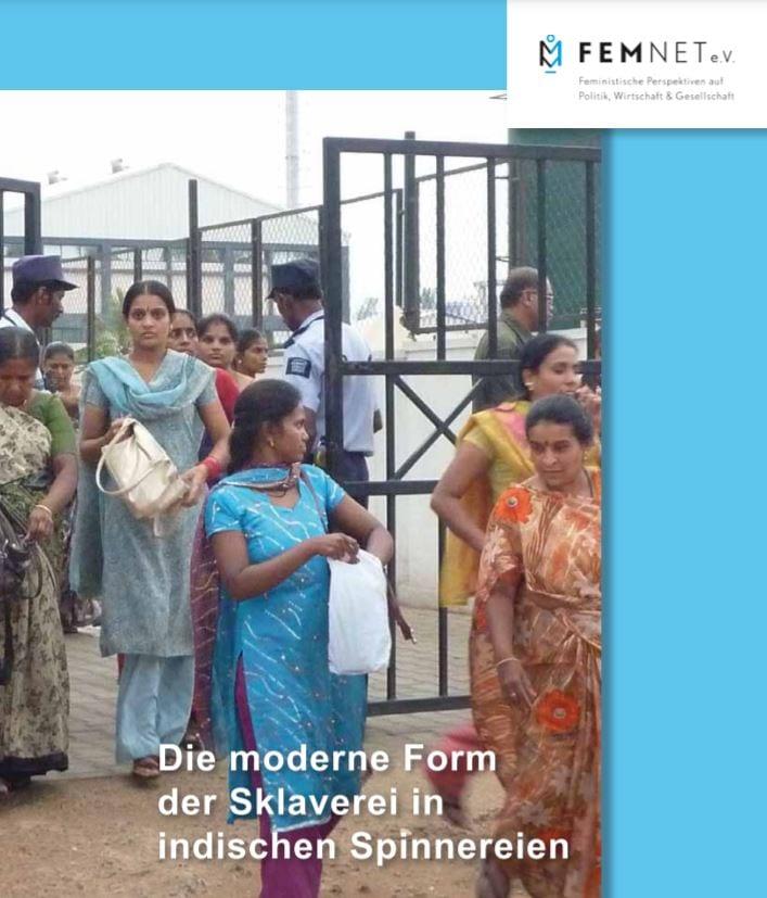 Die moderne Form der Sklaverei in indischen Spinnereien