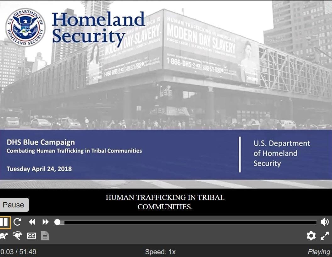 Law Enforcement Human Trafficking Awareness Training