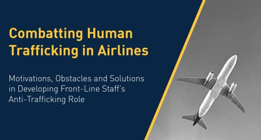 Combatting Human Trafficking in Airlines