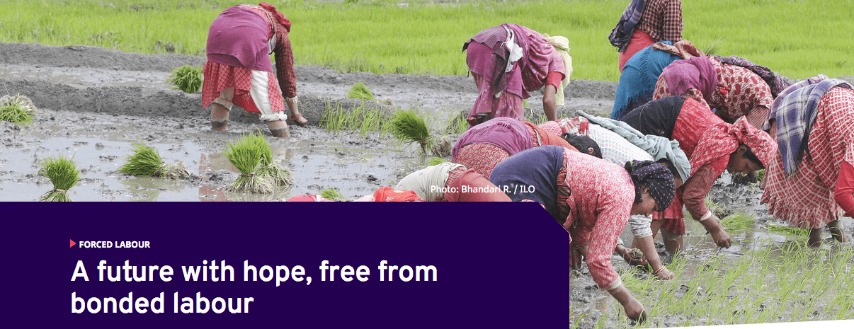 A future with hope, free from bonded labor