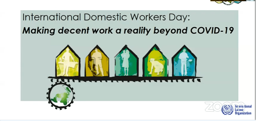 International Domestic Workers' Day – Making decent work a reality beyond COVID-19