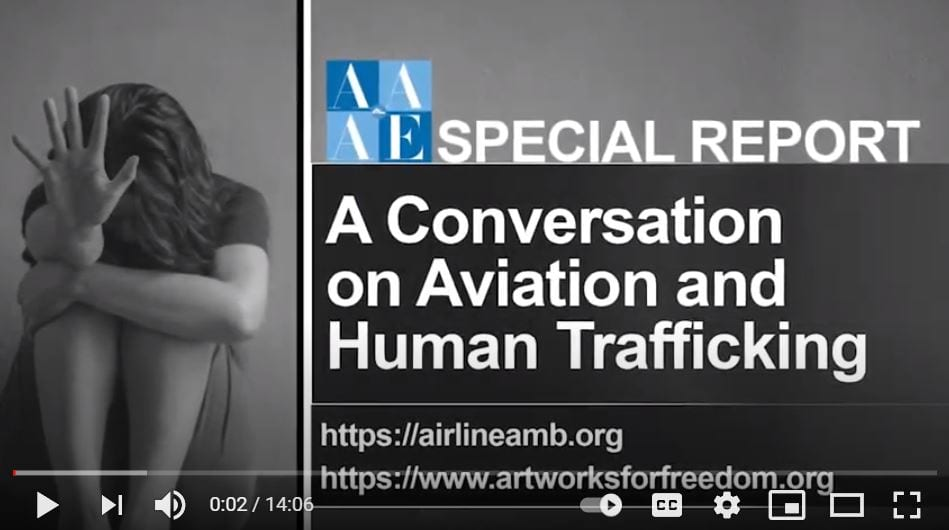 AAAE Special Report: A Conversation on Aviation and Human Trafficking