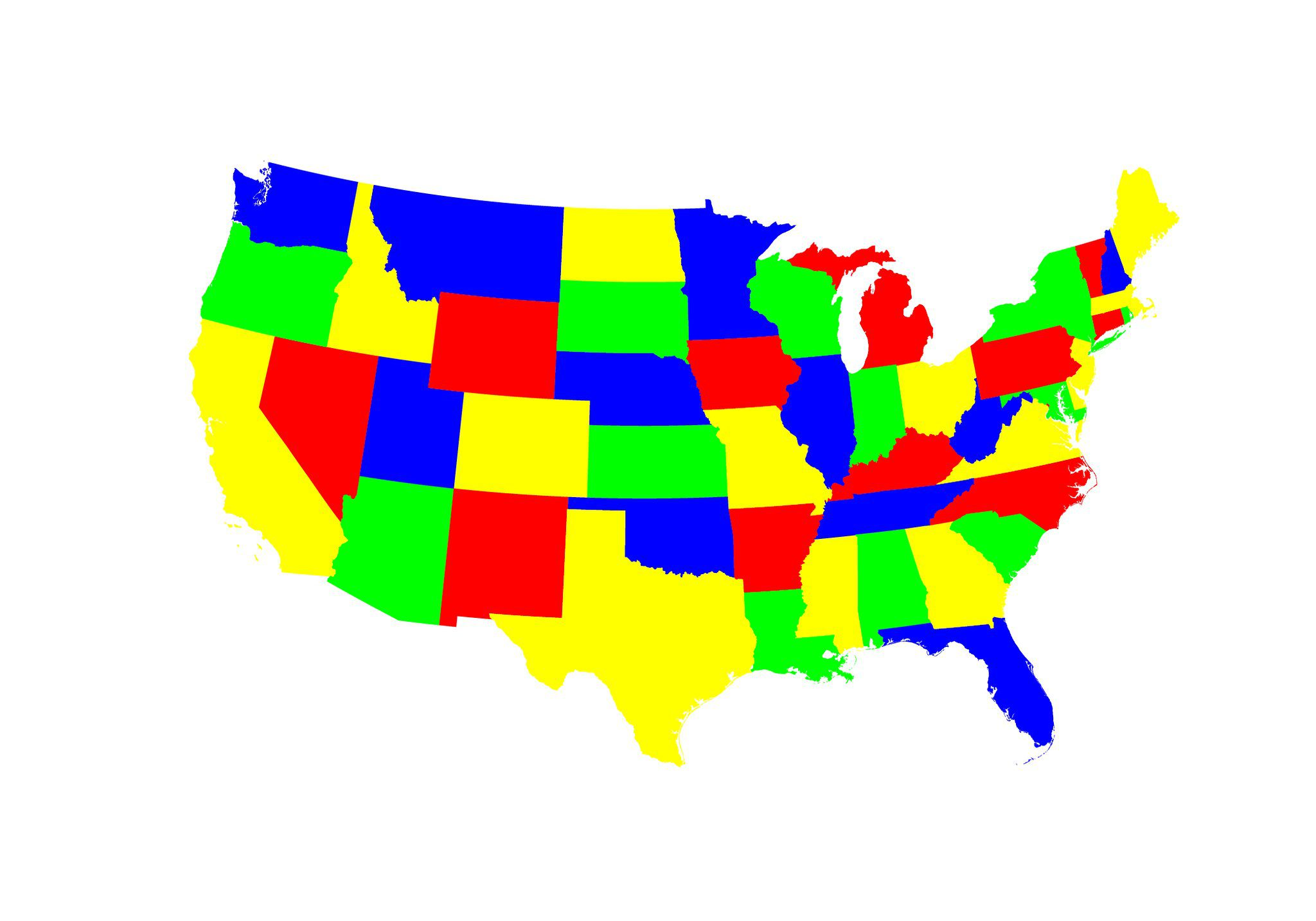 Top 3 States for Trafficking